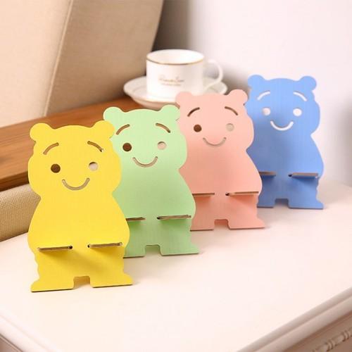 Combo 2 giá đỡ điện thoại bằng gỗ hình con gấu nhiều màu siêu xinh - 12702336 , 20579015 , 15_20579015 , 24000 , Combo-2-gia-do-dien-thoai-bang-go-hinh-con-gau-nhieu-mau-sieu-xinh-15_20579015 , sendo.vn , Combo 2 giá đỡ điện thoại bằng gỗ hình con gấu nhiều màu siêu xinh