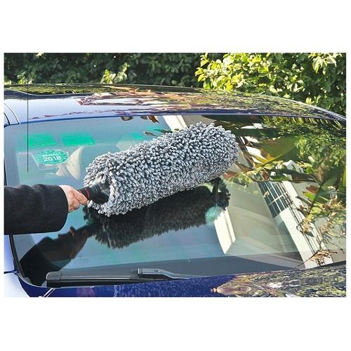 Dụng cụ lau chùi xe ô tô-đầu cây lau xe ô tô chất liệu bông mềm mại 42*80cm, s&t