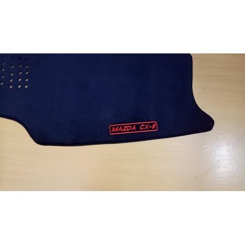 Thảm taplo mazda cx-52018 loại 2 màn hình