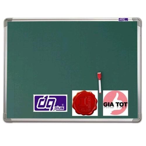 Bảng từ xanh viết phấn 40x60cm_tặng kèm 6 viên nam châm+hộp phấn