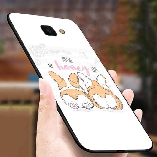 Ốp kính cường lực cho điện thoại Samsung Galaxy J4 PLUS - J4 CORE - mông to MS MONG021