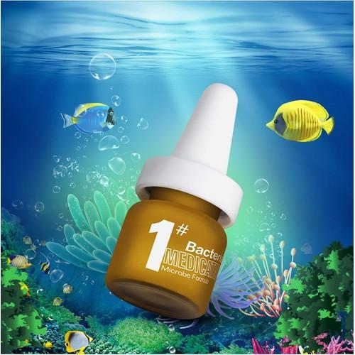 Biozym chuyên dành cho cá cảnh thối thịt, thối thân, viêm ruột, vi khuẩn mang,... dùng được cho nước