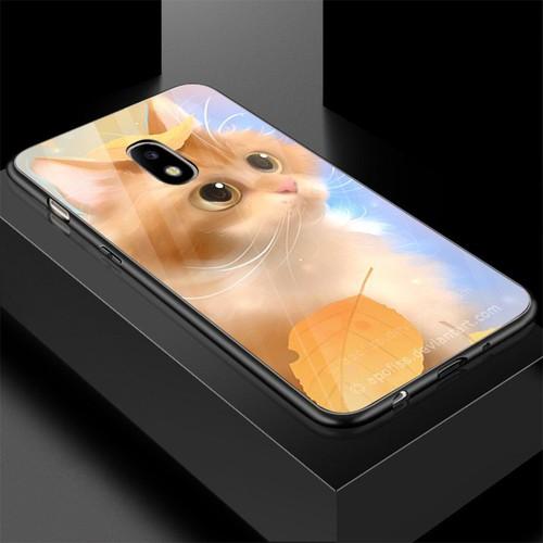 Ốp điện thoại kính cường lực cho máy samsung galaxy j2 - dễ thương muốn xỉu ms cute006