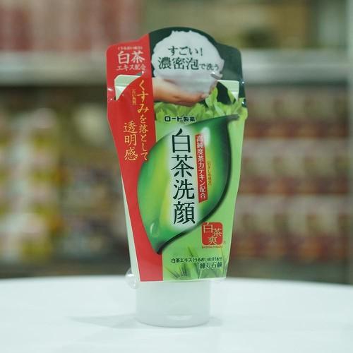 Sữa rửa mặt Matcha trà xanh Nhật Bản Rohto shirochasou green tea foam 120g - 11684646 , 20608651 , 15_20608651 , 92000 , Sua-rua-mat-Matcha-tra-xanh-Nhat-Ban-Rohto-shirochasou-green-tea-foam-120g-15_20608651 , sendo.vn , Sữa rửa mặt Matcha trà xanh Nhật Bản Rohto shirochasou green tea foam 120g