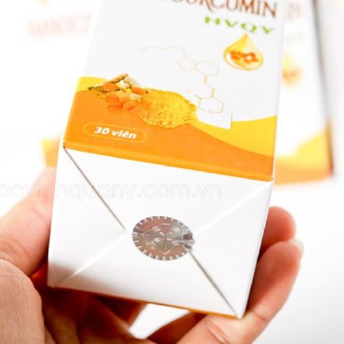 Nano curcumin tinh chất nghệ vàng học viện quân y