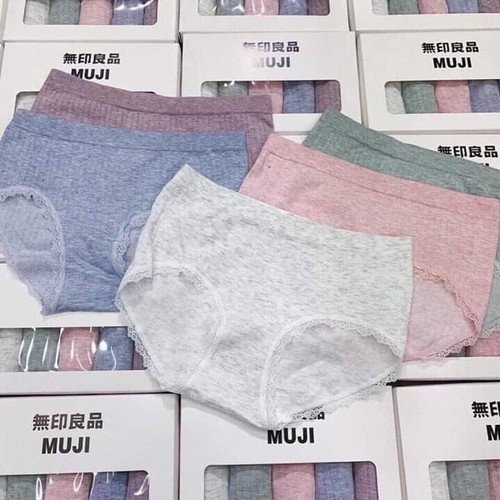 Hộp 5 quần lót muji mịn đẹp