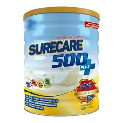 Sữa Surecare 500 Plus 3+ 900g dành cho bé biếng ăn, duy dinh dưỡng.