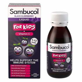 Vitamin Sambucol 120ml- Vitamin tăng đề kháng cho bé--Anh - Sambucol