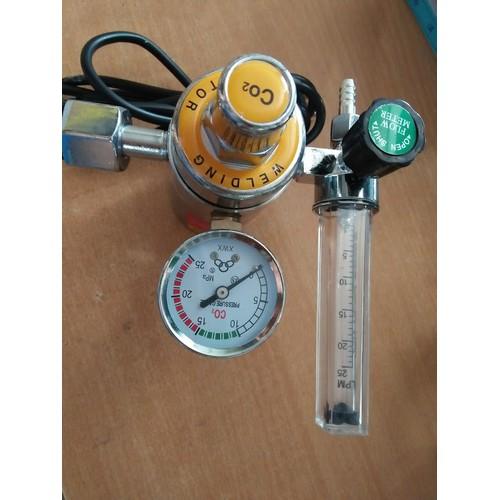 Đồng hồ đo lưu lượng khí co2 zlhc vàng