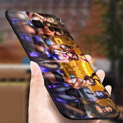 Ốp điện thoại kính cường lực cho máy Samsung Galaxy J7 PRIME - mông to MS MONG015