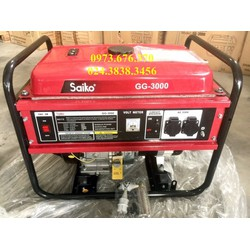 Máy phát điện gia đình công suất 2.2kw thương hiệu Saiko
