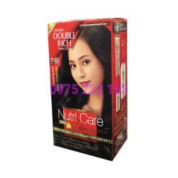 Thuốc nhuộm tóc Double Rich Trend Color 1NB – Đen tự nhiên