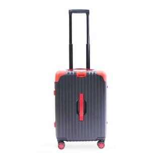 Vali khóa sập Tresette cao cấp nhập khẩu Hàn Quốc TSL 81824 Black, Red - TSL 81824 thumbnail