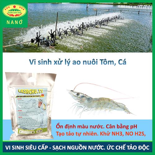 Vi sinh xử lý ao nuôi tôm, cá. ức chế tảo độc và vi khuẩn gây hại. làm sạch nguồn nước. lasachu - 16992294 , 20595237 , 15_20595237 , 220000 , Vi-sinh-xu-ly-ao-nuoi-tom-ca.-uc-che-tao-doc-va-vi-khuan-gay-hai.-lam-sach-nguon-nuoc.-lasachu-15_20595237 , sendo.vn , Vi sinh xử lý ao nuôi tôm, cá. ức chế tảo độc và vi khuẩn gây hại. làm sạch nguồn nướ