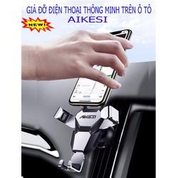 Giá đỡ kẹp điện thoại AIKESI gắn trên khe cửa gió điều hòa xe ô tô siêu tiện lợi