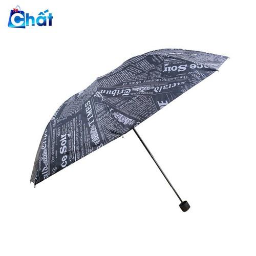 Ô che mưa họa tiết giấy báo vải dù