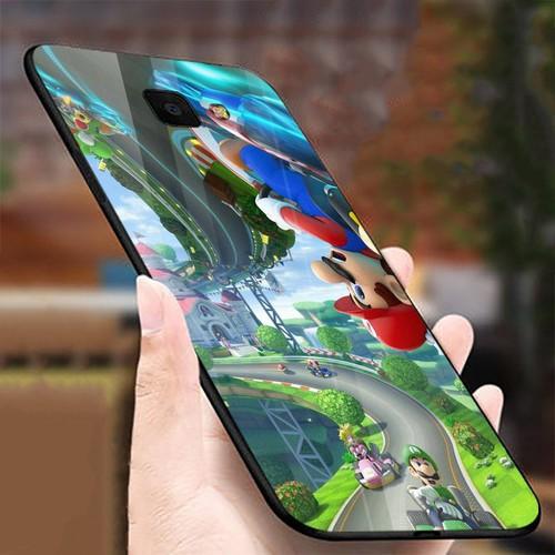 Ốp điện thoại kính cường lực cho máy Samsung Galaxy J4 PLUS - J4 CORE - super mario MS MARIO005