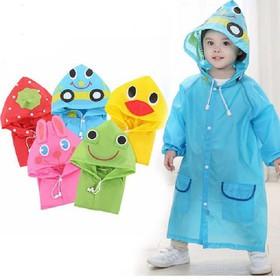 Áo mưa trẻ em hình thú - aomuathu