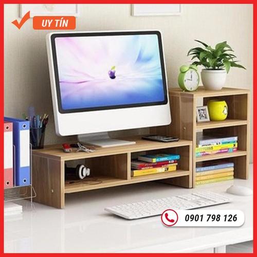 Kệ gỗ để màn hình 2 tầng, có ngăn tủ phụ bên cạnh - 17374279 , 20594469 , 15_20594469 , 550000 , Ke-go-de-man-hinh-2-tang-co-ngan-tu-phu-ben-canh-15_20594469 , sendo.vn , Kệ gỗ để màn hình 2 tầng, có ngăn tủ phụ bên cạnh
