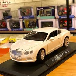 Mô hình xe ô tô Bentley GT W12 tỉ lệ 1:24 hãng Double Horses màu trắng