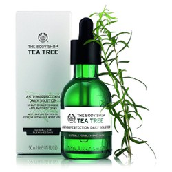 Tinh chất trị mụn The Body Shop Tea Tree Anti-Imperfection Daily Solution
