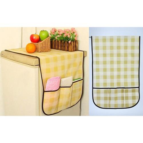 Tấm phủ tủ lạnh bằng vải có ngăn - 12282086 , 20632384 , 15_20632384 , 25000 , Tam-phu-tu-lanh-bang-vai-co-ngan-15_20632384 , sendo.vn , Tấm phủ tủ lạnh bằng vải có ngăn
