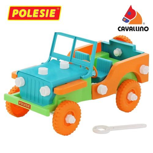 Bộ đồ chơi lắp ghép xe jeep retro 42 chi tiết cavallino toys - 12733352 , 20630038 , 15_20630038 , 219000 , Bo-do-choi-lap-ghep-xe-jeep-retro-42-chi-tiet-cavallino-toys-15_20630038 , sendo.vn , Bộ đồ chơi lắp ghép xe jeep retro 42 chi tiết cavallino toys