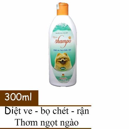Sữa tắm diệt ve ghẻ chó mèo - vmd shampoo 300ml