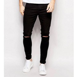 Quần jean nam đen BIGSIZE jean skinny co giãn