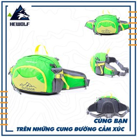 Túi đeo hông leo núi dã ngoại Hewolf 3 lít HW1634 - HW1634