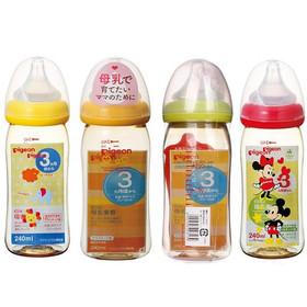 Bình Pigeon 240ml chuẩn hàng nội địa Nhật - Bình ti sữa Pigeon 240ml - BS114
