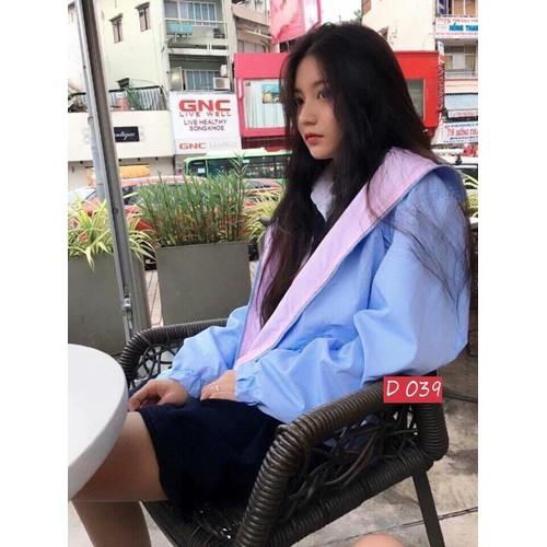 Áo khoác dù nữ - ao khoac du nu