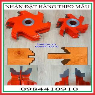 MŨI PHAY TUPY ĐỐ CỬA CHÍNH 5 DAO TRÒN PHI 220MM - DCC5DR220 30 thumbnail
