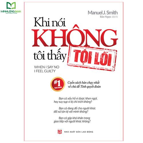 Sách minh long book: khi nói không tôi thấy tội lỗi