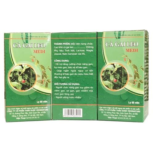 Combo 3 hộp cà gai leo medi – thảo dược hỗ trợ chữa các bệnh về gan, giải độc gan, tăng cường chức năng gan - 12730276 , 20625904 , 15_20625904 , 360000 , Combo-3-hop-ca-gai-leo-medi-thao-duoc-ho-tro-chua-cac-benh-ve-gan-giai-doc-gan-tang-cuong-chuc-nang-gan-15_20625904 , sendo.vn , Combo 3 hộp cà gai leo medi – thảo dược hỗ trợ chữa các bệnh về gan, giải độ