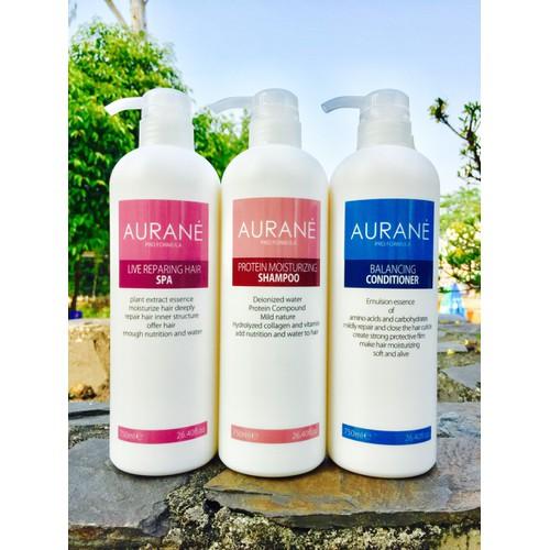 Bộ 3 sản phẩm chăm sóc tóc hư tổn, khô xơ aurane protein moisturizing 750ml - 12743203 , 20643981 , 15_20643981 , 1560000 , Bo-3-san-pham-cham-soc-toc-hu-ton-kho-xo-aurane-protein-moisturizing-750ml-15_20643981 , sendo.vn , Bộ 3 sản phẩm chăm sóc tóc hư tổn, khô xơ aurane protein moisturizing 750ml