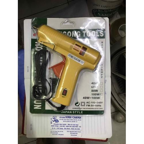 Súng bắn keo nến to 100w hotmelt glue gun - 12734431 , 20631810 , 15_20631810 , 149000 , Sung-ban-keo-nen-to-100w-hotmelt-glue-gun-15_20631810 , sendo.vn , Súng bắn keo nến to 100w hotmelt glue gun