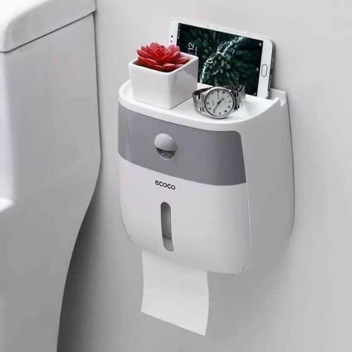 Kệ để giấy vệ sinh ecoco 2 tầng cao cấp có ngăn kéo thông minh - kệ toilet cao cấp có khay đựng đồ dùng cá nhân - 12742014 , 20642606 , 15_20642606 , 295000 , Ke-de-giay-ve-sinh-ecoco-2-tang-cao-cap-co-ngan-keo-thong-minh-ke-toilet-cao-cap-co-khay-dung-do-dung-ca-nhan-15_20642606 , sendo.vn , Kệ để giấy vệ sinh ecoco 2 tầng cao cấp có ngăn kéo thông minh - kệ to