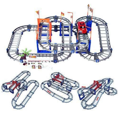 Mô hình lắp ráp đường ray xe ô tô cho bé - 12741427 , 20640932 , 15_20640932 , 310200 , Mo-hinh-lap-rap-duong-ray-xe-o-to-cho-be-15_20640932 , sendo.vn , Mô hình lắp ráp đường ray xe ô tô cho bé