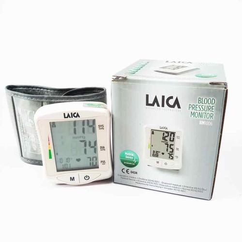 Máy đo huyết áp cổ tay điện tử laica bm1006 - 12743309 , 20644113 , 15_20644113 , 899000 , May-do-huyet-ap-co-tay-dien-tu-laica-bm1006-15_20644113 , sendo.vn , Máy đo huyết áp cổ tay điện tử laica bm1006