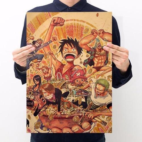 Poster phim hoạt hình one piece