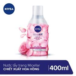 Nước tẩy trang chiết xuất hoa hồng Nivea Micellair Skin Breathe 400ml_82366