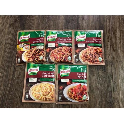 Gia vị làm nước sốt mỳ ý spaghetti bolognese