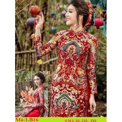 Nguyên bộ áo dài truyền thống may sẵn đủ size -áo dài + quần, tặng mấn - 12730427 , 20626091 , 15_20626091 , 490000 , Nguyen-bo-ao-dai-truyen-thong-may-san-du-size-ao-dai-quan-tang-man-15_20626091 , sendo.vn , Nguyên bộ áo dài truyền thống may sẵn đủ size -áo dài + quần, tặng mấn