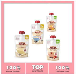 Váng sữa tăng cân HEINZ CUSTARD - Vãng sữa tăng cân cho bé nhập khẩu từ Úc - Váng sữa cho bé - VS332 thumbnail