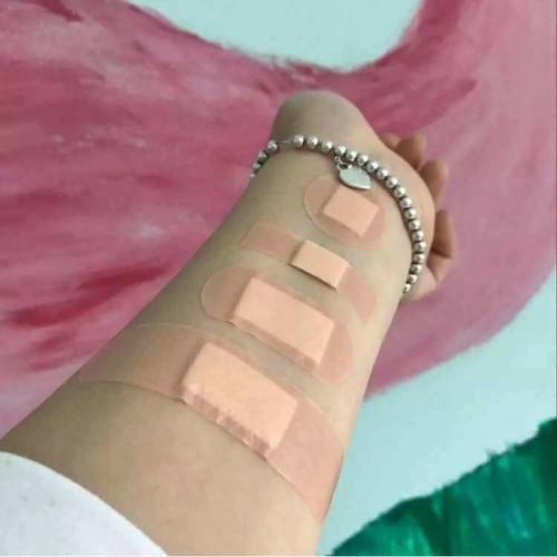 Hộp 100 băng gạc y tế dán vết thương