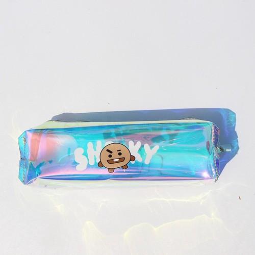Hộp bút_bóp viết hologram bt21 xinh xắn unicer_hộp bút bts