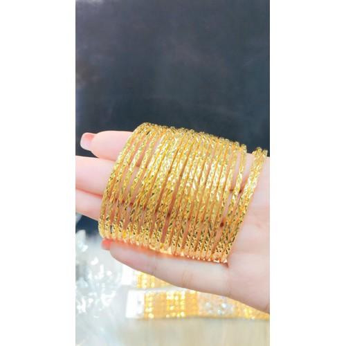 Vòng ximen khóa gài dát  vàng 18k mua 3 tặng 1 - 12739164 , 20637778 , 15_20637778 , 299000 , Vong-ximen-khoa-gai-dat-vang-18k-mua-3-tang-1-15_20637778 , sendo.vn , Vòng ximen khóa gài dát  vàng 18k mua 3 tặng 1