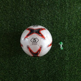 quả bóng đá số 5 mẫu AFF CUP da SVD- tặng bộ kim túi 2 đôi tất dài đá bóng - bd886