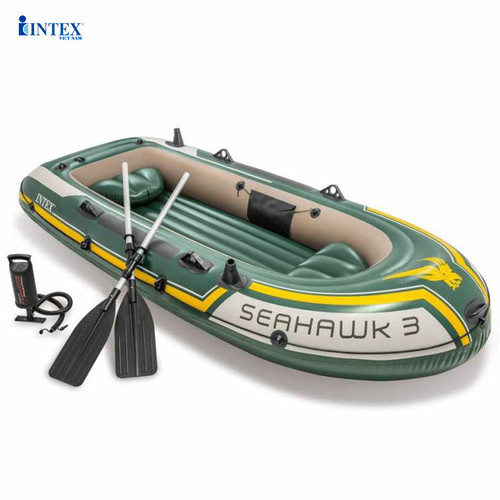 Thuyền bơm hơi seahawk 3 người intex 68380